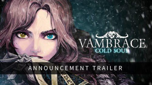 Vambrace: Cold Souls chega no terceiro trimestre ao PS4