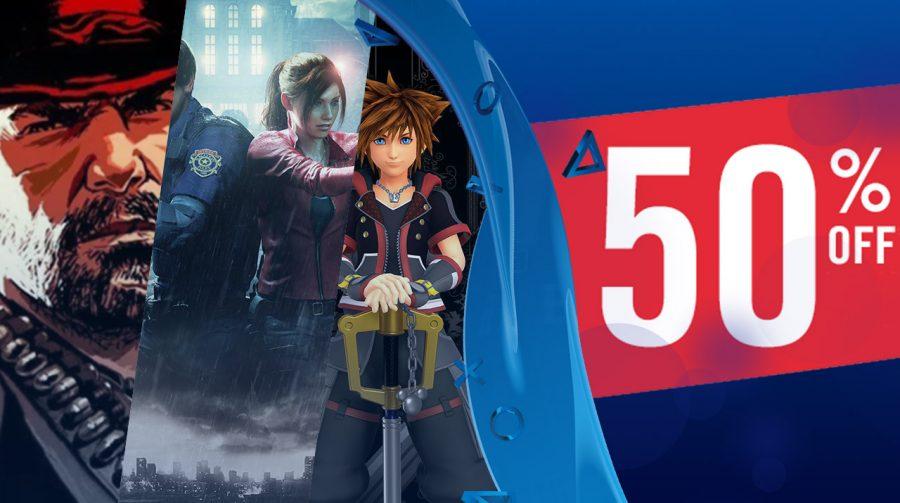 Submarino oferece Resident Evil 2 com 50% de descontos no cartão da loja!