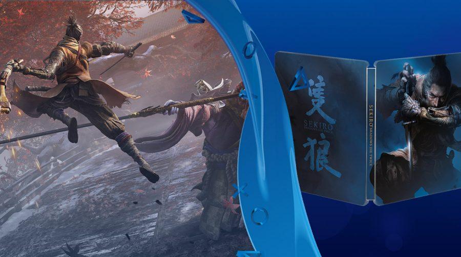 Sekiro: Shadows Die Twice, edição física, entra em pré-venda no Brasil