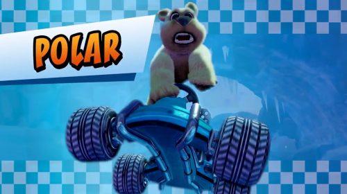 Crash Team Racing: Nitro-Fueled ganha teasers com Crash, Coco e Polar
