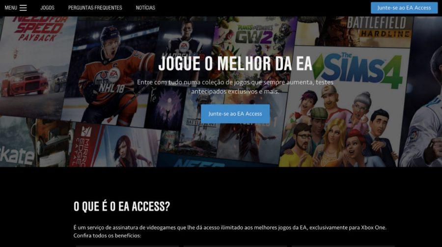 EA Access: tudo que você precisa saber sobre o serviço