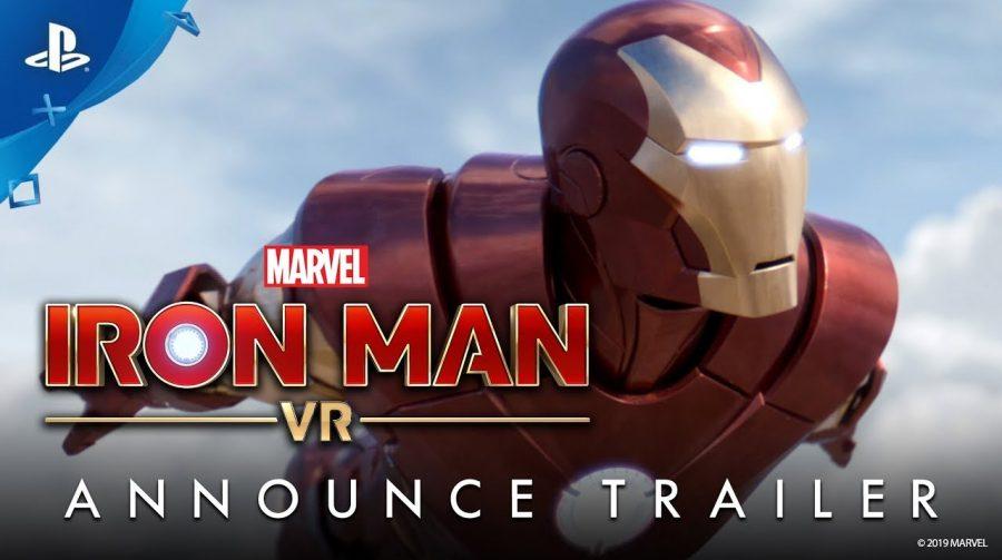 Homem de Ferro em realidade virtual: Sony anuncia Iron Man VR