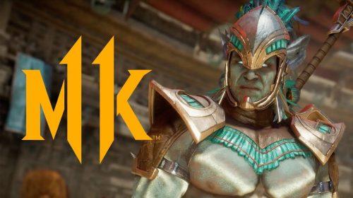 Kotal Khan e Jacqui Briggs são revelados em trailer sanguinário de MK 11