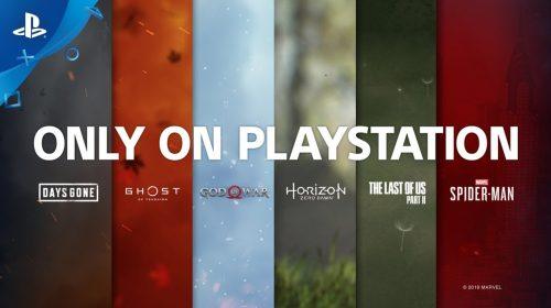 Só no PlayStation: Sony divulga vídeo incrível de exclusivos do PS4; assista