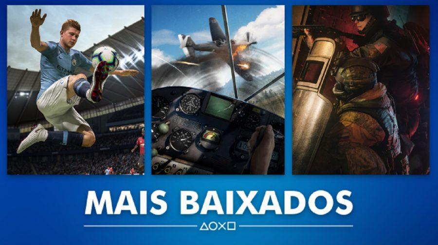 Sony revela os jogos mais vendidos de fevereiro na PS Store