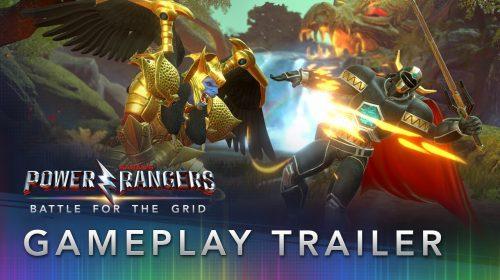 Power Rangers: Battle for the Grid: novo gameplay mostra vários lutadores