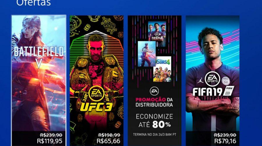 Jogos da EA estão em promoção na PSN; Descontos chegam até 80%!