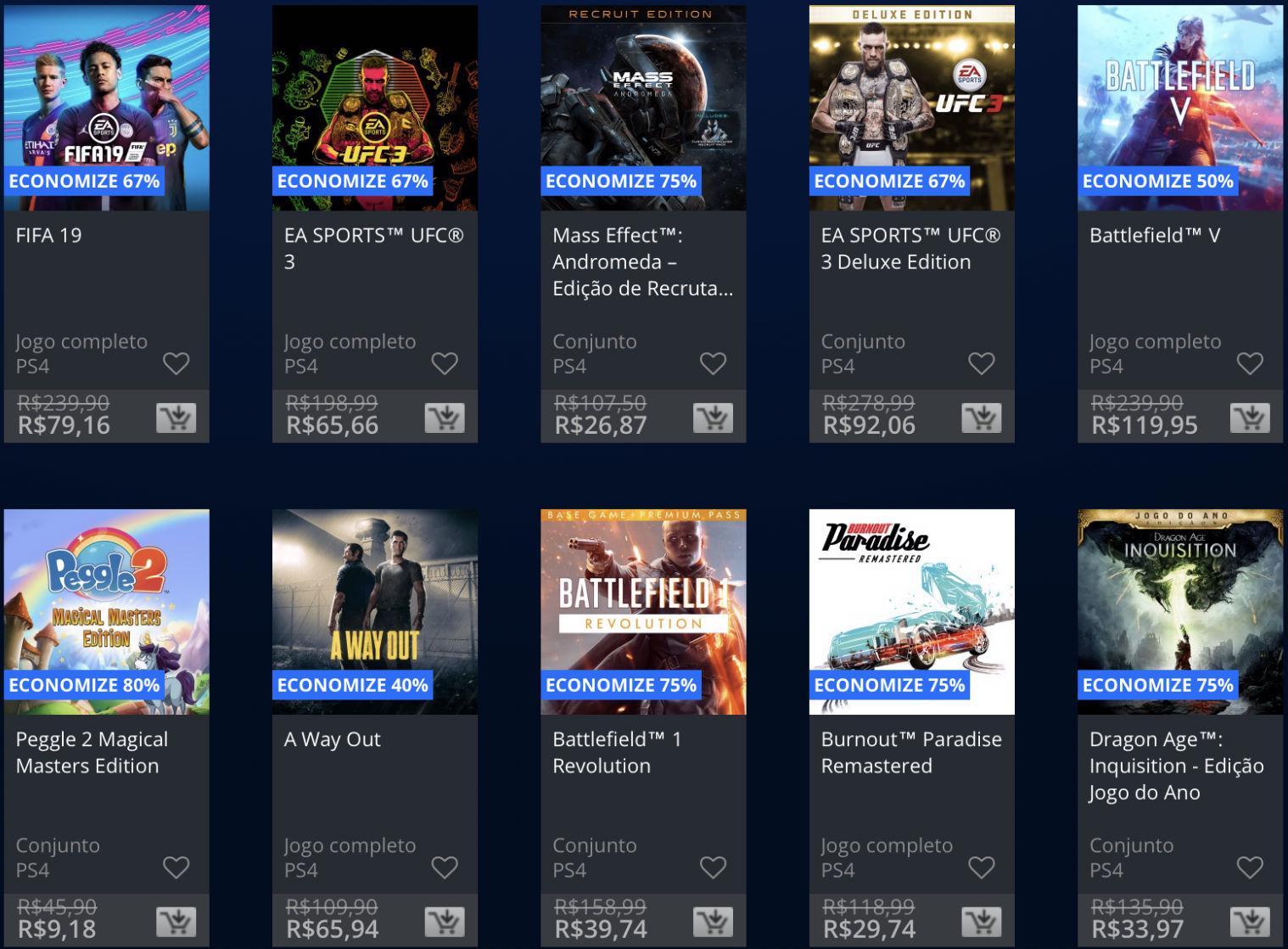 Jogos da EA estão em promoção na PSN; Descontos chegam até 80%! 1