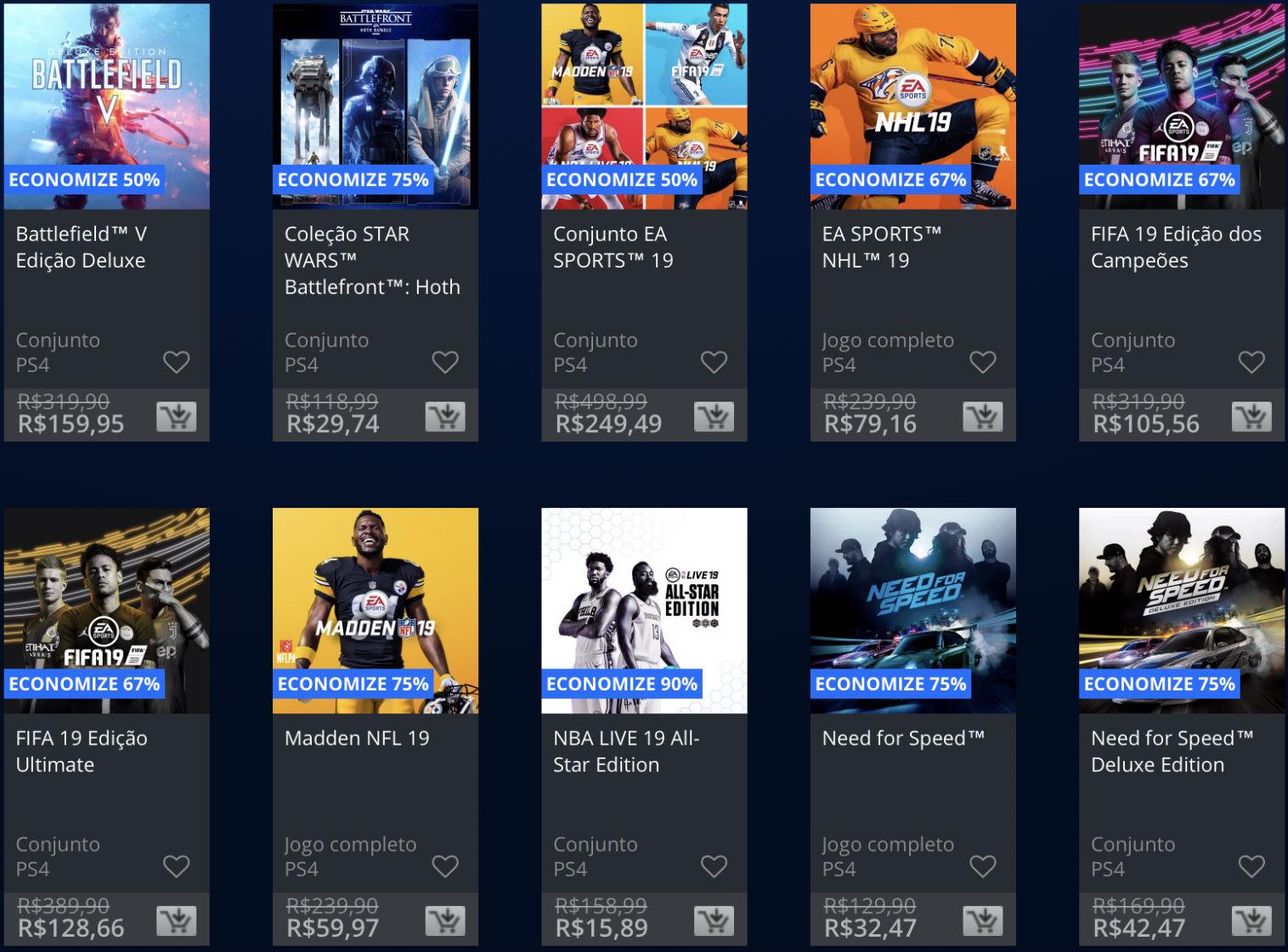 Jogos da EA estão em promoção na PSN; Descontos chegam até 80%! 3