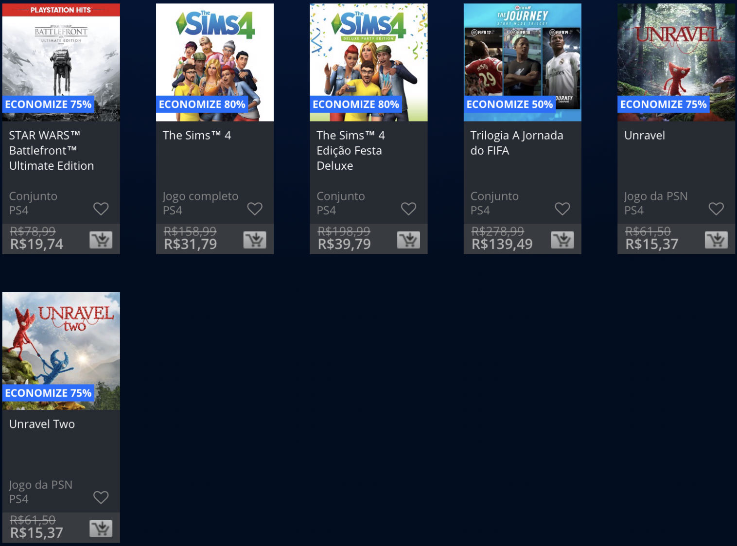Jogos da EA estão em promoção na PSN; Descontos chegam até 80%! 4