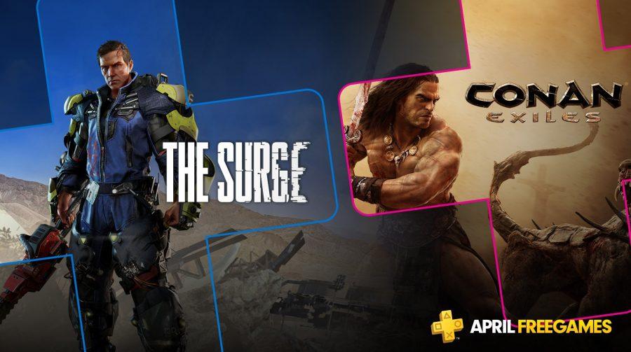 Jogos de abril para membros PS Plus já estão disponíveis para download