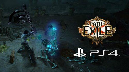 Chegou: aguardado RPG de Ação, Path of Exile está disponível no PS4