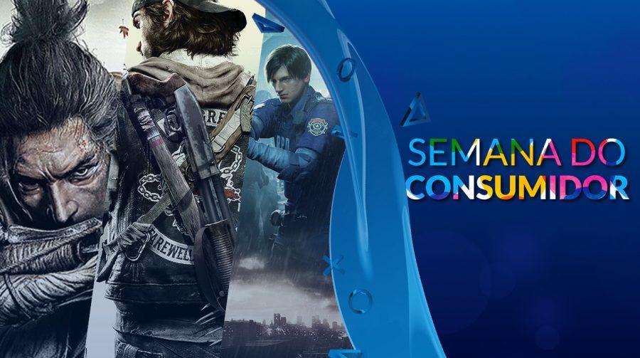 Semana do Consumidor: descontos especiais em jogos de PS4! Confira