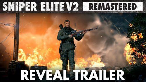 Sniper Elite V2 Remastered é anunciado para PS4; veja primeiro trailer