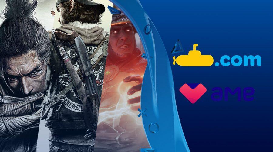 Hoje TEM! Submarino oferece cupom + dinheiro de volta em jogos de PS4