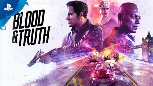 Blood & Truth, exclusivo para PlayStation VR, está concluído!