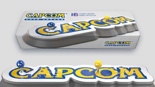 Capcom anuncia Capcom Home Arcade com 16 clássicos dos fliperamas