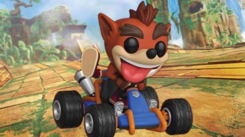 Crash Team Racing Nitro-Fueled terá colecionável de Funko POP!