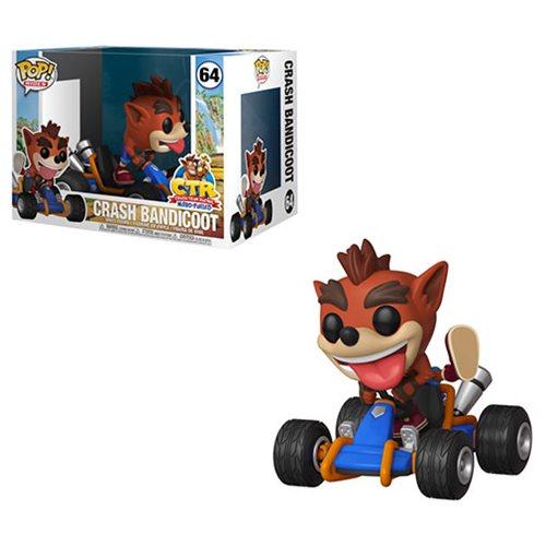 Crash Team Racing Nitro-Fueled terá colecionável de Funko POP! 2