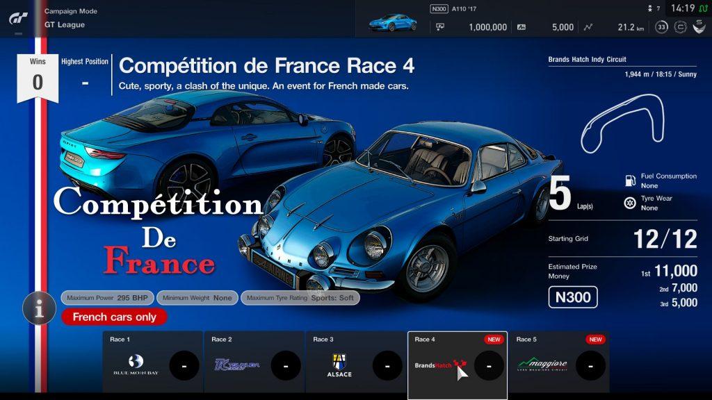 Gran Turismo Sport: atualização adiciona 5 carros e novos eventos 1