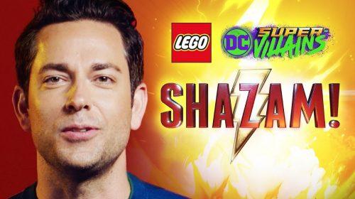 LEGO DC Super-Villains: Shazam chega como DLC