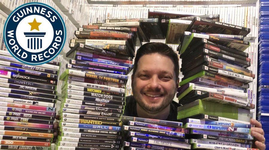 Conheça: maior coleção de jogos de mundo tem mais de 20 mil títulos