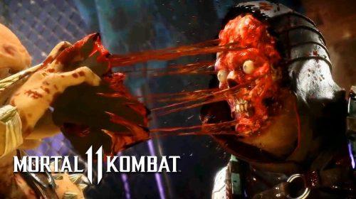 Sanguinários!10 brutais fatalities de Mortal Kombat 11