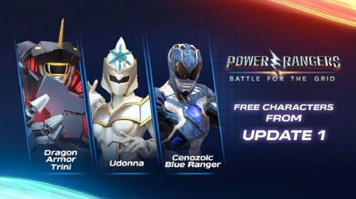 Power Rangers: Battle for the Grid vai receber 3 lutadores gratuitamente