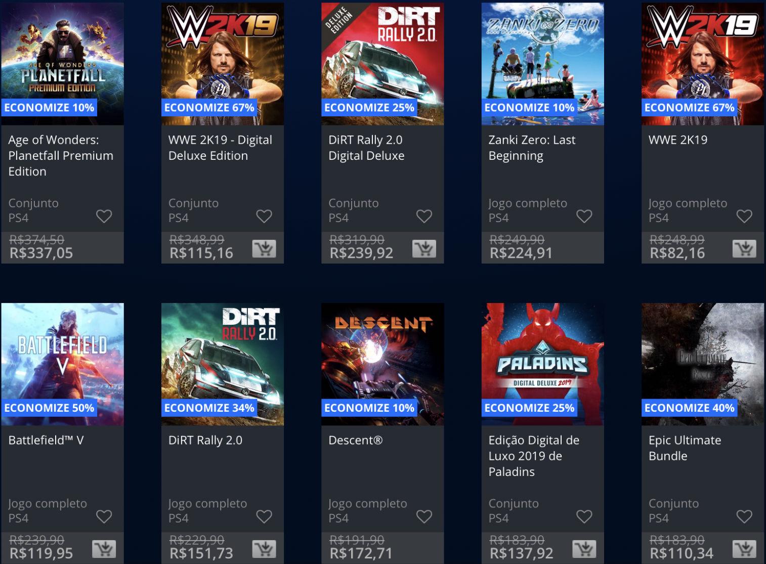 Promoções da PSN: Sony baixa (temporariamente) preço de alguns jogos 1