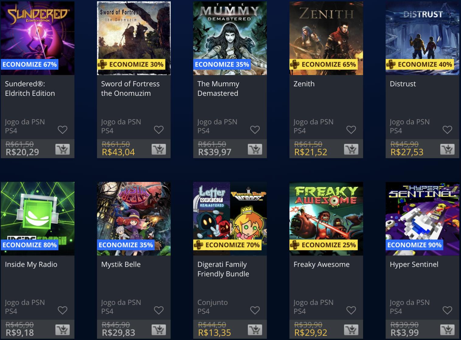 Promoções da PSN: Sony baixa (temporariamente) preço de alguns jogos 3