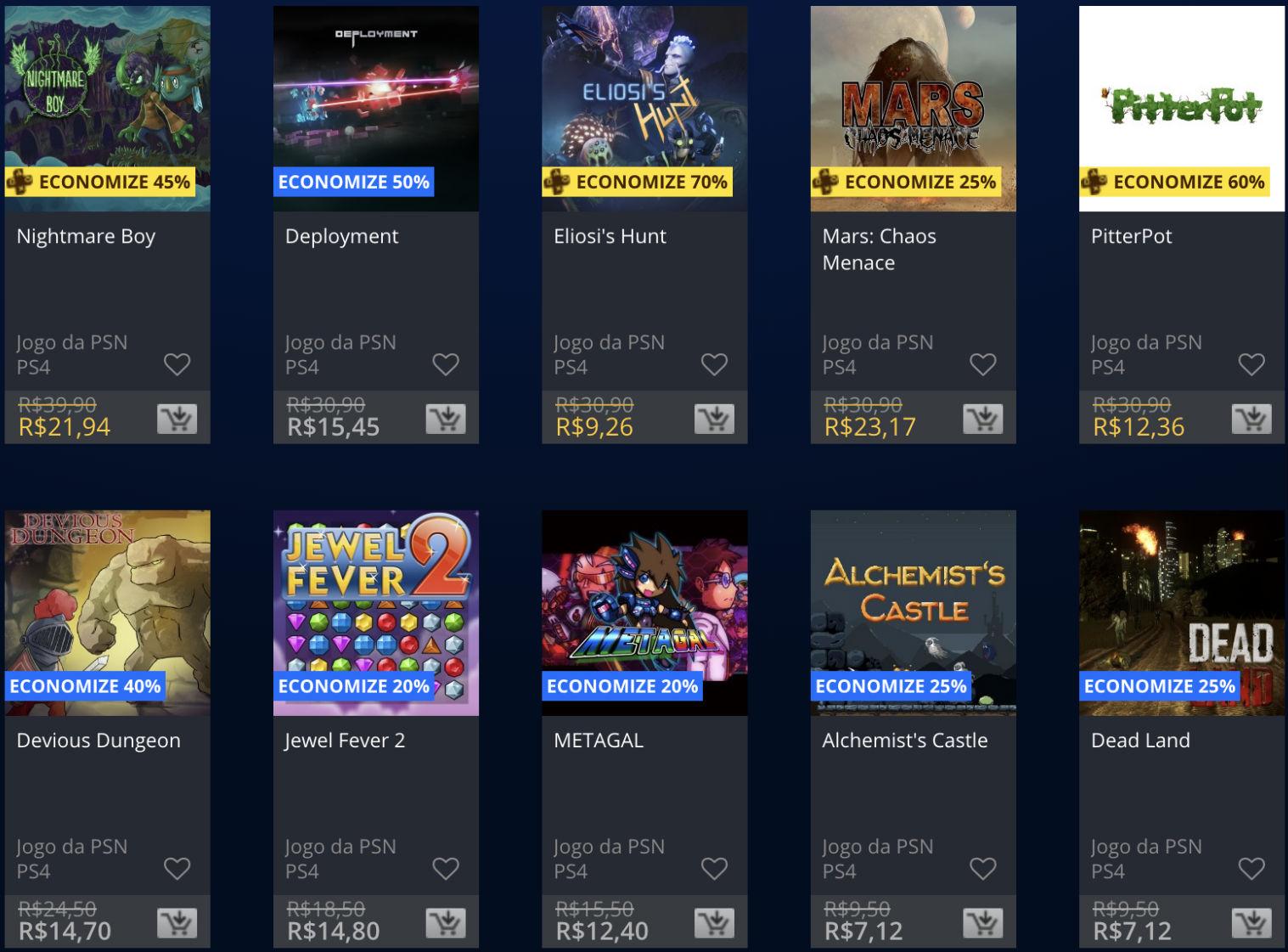 Promoções da PSN: Sony baixa (temporariamente) preço de alguns jogos 4