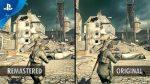 Sniper Elite V2 Remastered Trailer de comparação