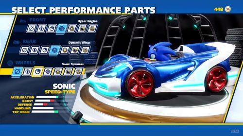 Team Sonic Racing: trailer mostra personalizações e disputas explosivas