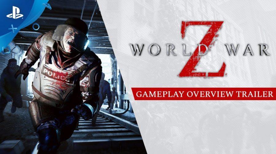 Novo trailer de World War Z mostra