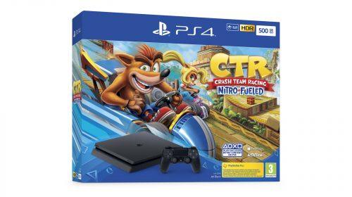 PS4 SLIM terá vários bundles com Crash Team Racing Nitro-Fueled; veja