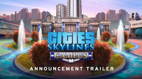 Cities: Skylines recebe expansão focada em universidades; veja gameplay