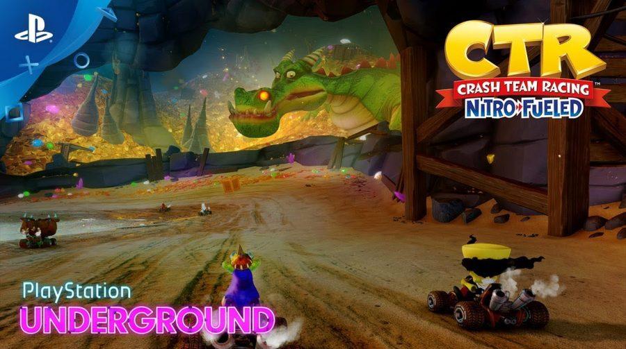 Crash Team Racing Nitro-Fueled: gameplay mostra novos cenários