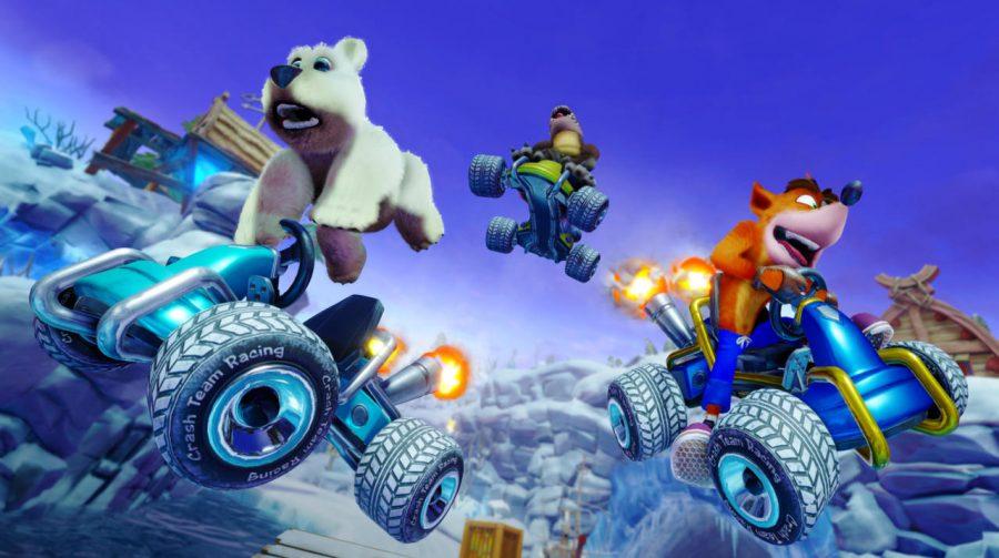 Crash Team Racing Nitro-Fueled: vídeo mostra multiplayer online em ação