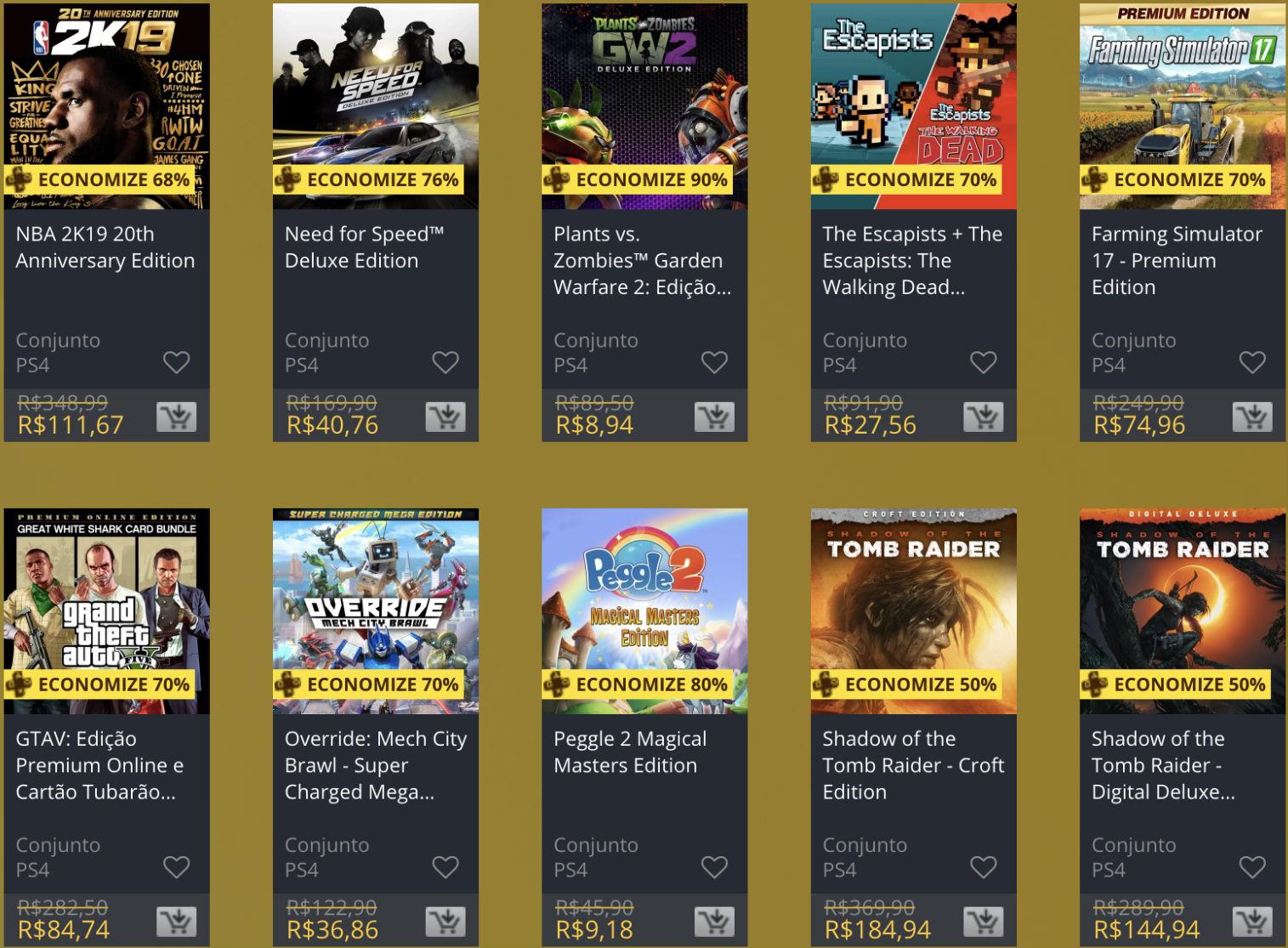 """Sony oferece """"Descontos Duplos"""" em jogos na PS Store; veja 2"""
