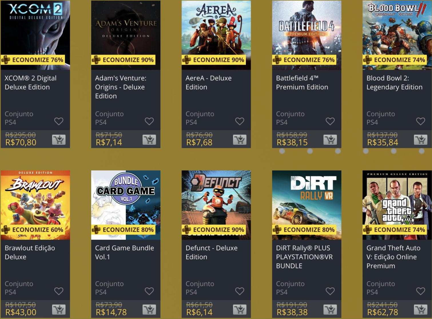 """Sony oferece """"Descontos Duplos"""" em jogos na PS Store; veja 3"""