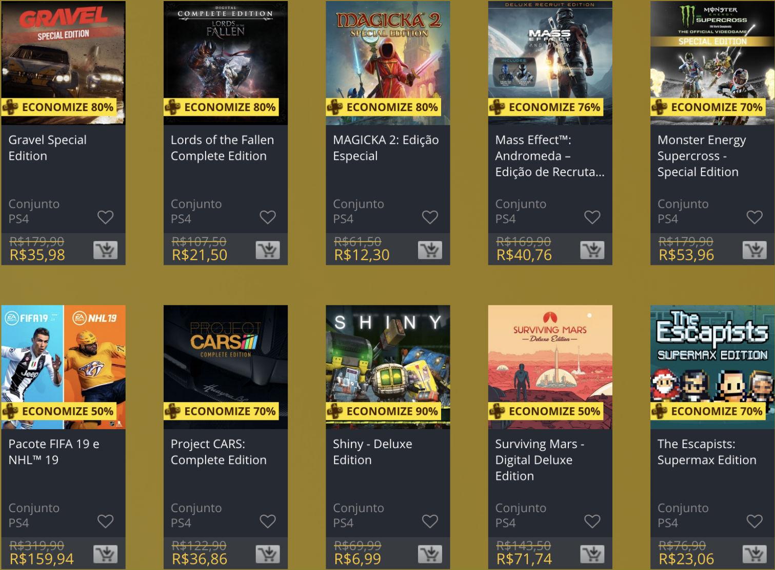 """Sony oferece """"Descontos Duplos"""" em jogos na PS Store; veja 4"""