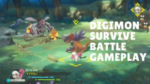 Digimon Survive ganha gameplay com estratégia e muita nostalgia