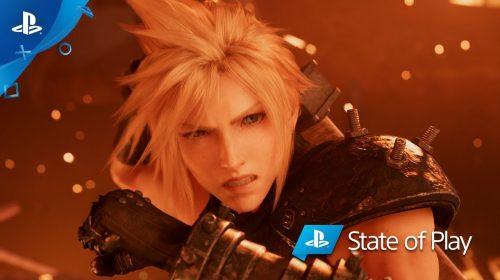 #StateOfPlay: Sony revela retorno de Final Fantasy VII remake com teaser