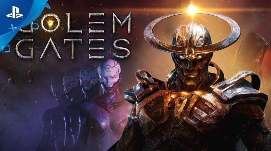 Golem Gates chega em 28 de maio ao PS4 unindo cartas com estratégia