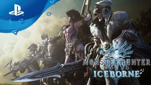#StateOfPlay: Iceborne de Monster Hunter: World chega em setembro
