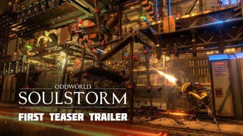 Oddworld: Soulstorm ganha novo trailer de gameplay; assista