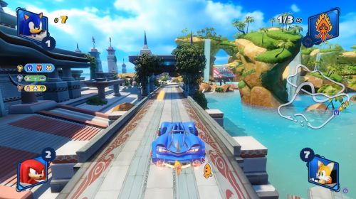 Team Sonic Racing ganha bonito gameplay no PS4; assista
