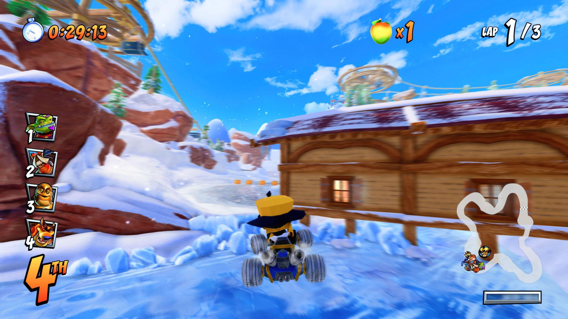 Blizzard Bluffs Crash Team Racing Nitro-Fueled