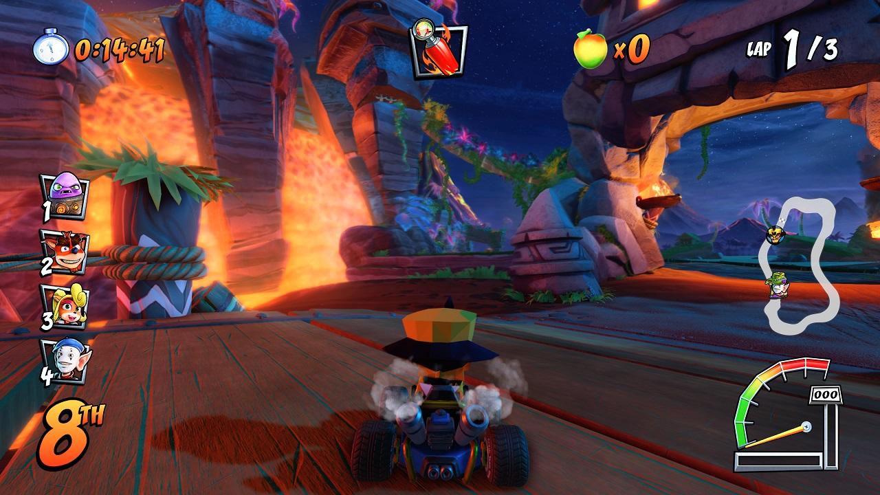 Inferno Crash Team Racing