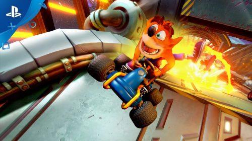 Veja notas que Crash Team Racing: Nitro-Fueled vem recebendo